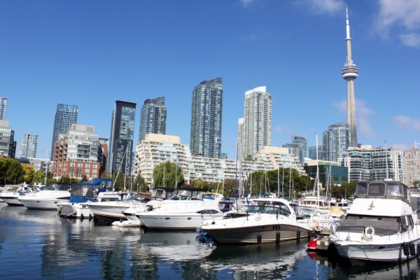 waterfront in toronto